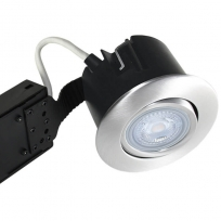 LED Spot børstet 5W GU10 2700K 330Lm - Type: 1452
