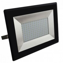 100W LED projektør 6500K 8500Lm sort