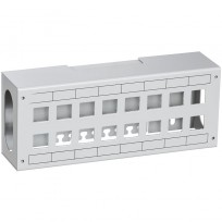 Patchbox For 16xRJ45 Lysegrå