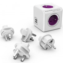 PowerCube Rewirable - 1x USB, 4 Udtag