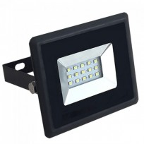 10W LED projektør 3000K 850Lm sort
