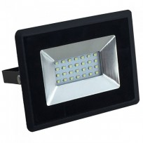 30W LED projektør 4000K 2550Lm sort