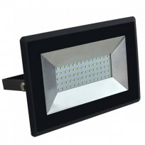50W LED projektør 4000K 4250Lm sort