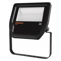 LEDVANCE Floodlight LED 20W 3000K sort IP65