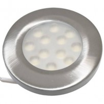 LED møbelspot børstet 2,6W dæmpbar 13mm Type:1812