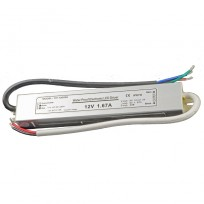 LED transformer 12V DC max 20 Watt
